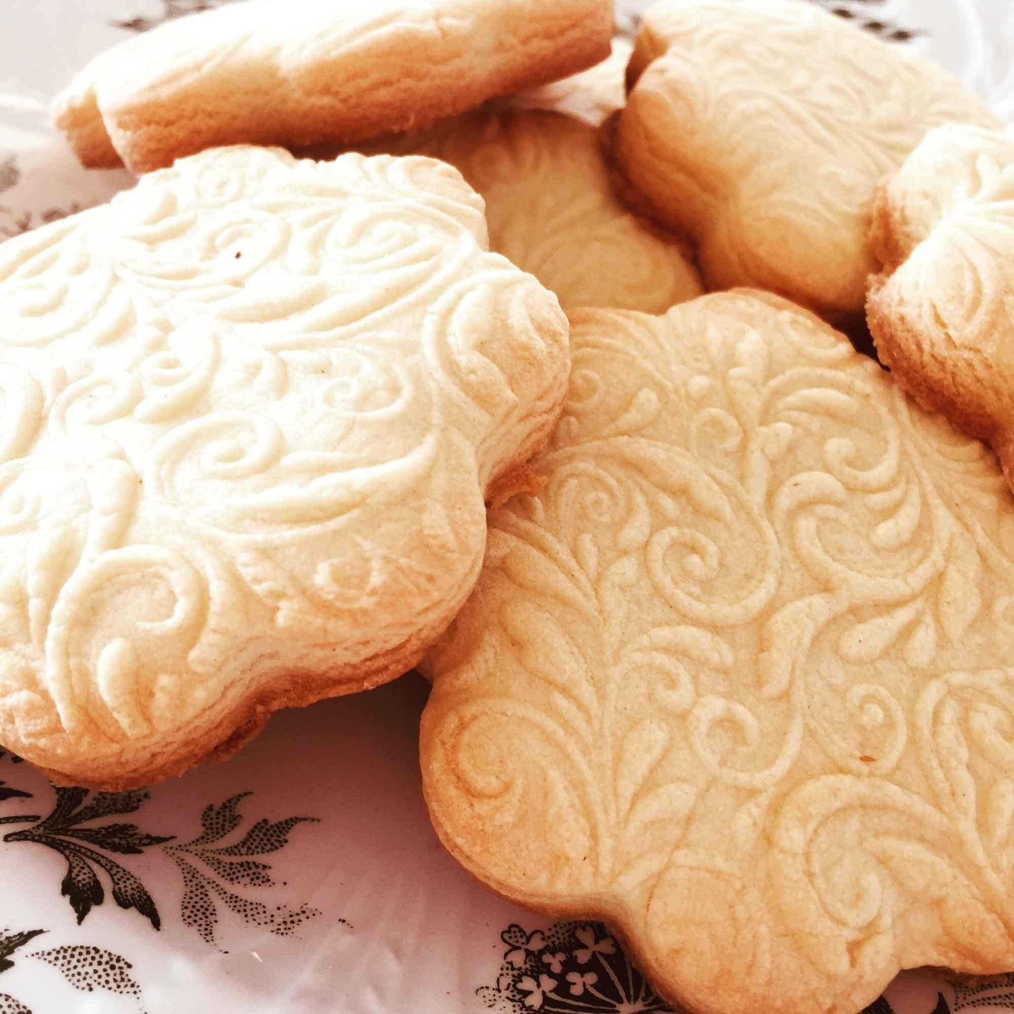 Cookies mit Ornament