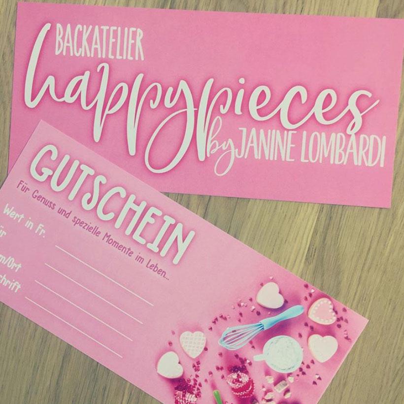 Gutschein happypieces by janinelombardi